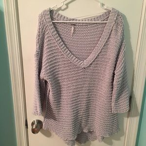 Free People pre-loved chunky knit sweater